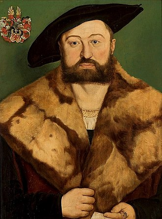 Barthel Beham - Portrait of a goldsmith Jörg Herz, c. 1525, National Museum, Warsaw.