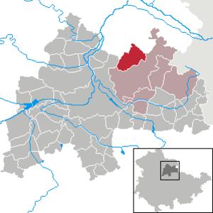 Beichlingen - Image: Beichlingen in SÖM