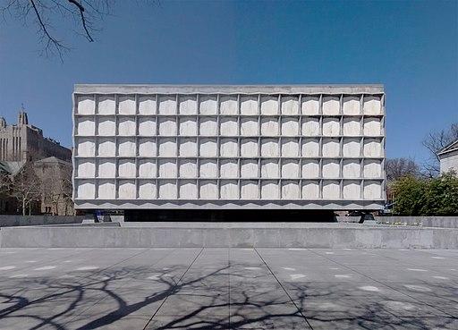 Beinecke-Rare-Book-Manuscript-Library-Yale-University-Hewitt-Quadrangle-New-Haven-Connecticut-Apr-2014-a