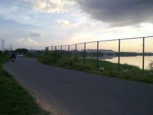 Bellandur Lake - Image: Bellandur lake