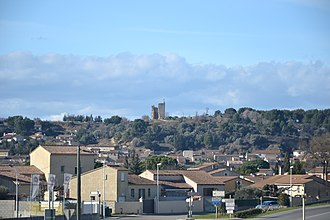 Bellegarde, Gard - A general view of Bellegarde
