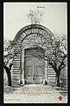 Bellevue Ancienne Porte du Château de Meudon sous Louis XIV.jpg