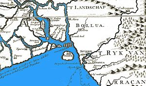 Portuguese settlement in Chittagong