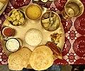 Bengali vegetarian thali.jpg