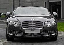 Bentley Continental GT (II) – Frontansicht, 30. August 2011, Düsseldorf.jpg