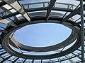 Berlin, Reichstagsgebäude, Kuppel, Lüftungsloch 2014-07.jpg