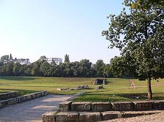 Görlitzer Park - Remains of the pedestrian tunnel in Görlitzer Park