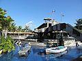 Bermuda Triangle station at Sea World.jpg