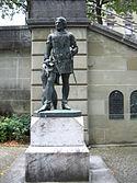V. Berchtold szobra Bernben
