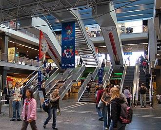 Bern railway station - Major hall on level -1