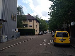 Bernhardstraße in Freiburg im Breisgau