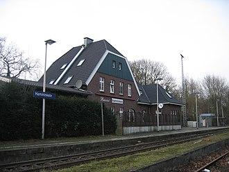 Hamminkeln - Train station
