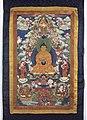 Bhaisajyaguru, Medicine Buddha and Tsongkhapa Wellcome L0015303.jpg