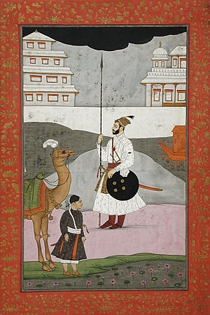Nawabs of Bhopal - A Nawab of Bhopal, 17-18th century