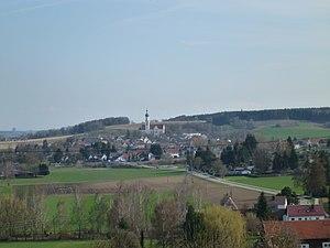 Biberbach, Bavaria - Image: Biberbach Südansicht