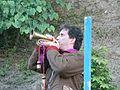 Biennale du Fort de Bron 2013 - Acteur trompette.JPG