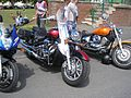Bikes on Teignmouth sea front, 9 June 2013 (01).jpg