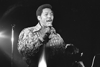 Billy Davis Jr. - Billy Davis Jr. performing at Eastern Michigan University in 1970.