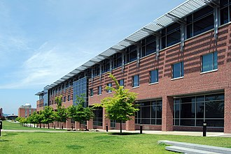 Center for Biotechnology and Interdisciplinary Studies - View of south façade