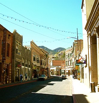 Bisbee, Arizona - Main Street, Bisbee