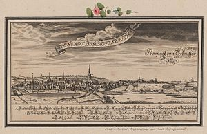 Bischofswerda - Historical view, about 1713
