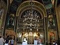 "Biserica ""Maicii Domnului, Sfintii Mucenici Ciprian si Iustina"", Zlatari, Calea Victoriei, Bucuresti, sect. 3, (interior 1) (picturi de Gh. Tattarescu).JPG"