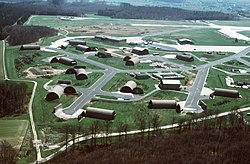Bitburg Air Base aircraft shelters 1988.JPEG