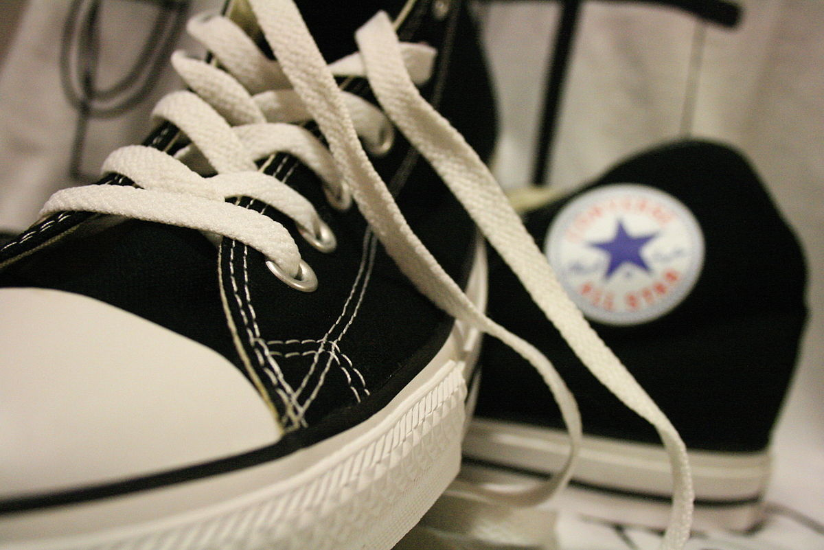 Black Converse Shoes Outfits