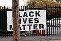 Black Lives Matter banner on Albany Street.jpg