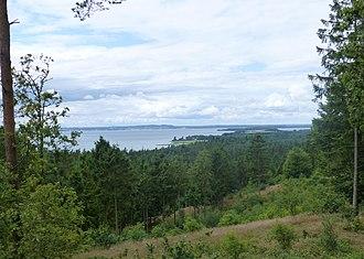 Søhøjlandet - Image: Blakshøj udsigt mod syd 02