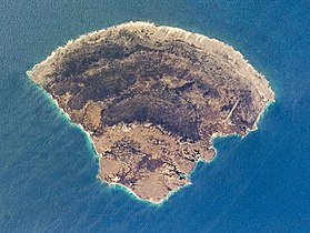Photo satellitaire de l'île de la Blanquilla