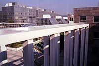 Blick vom Pharmazie-Zentrum zur (ehemaligen) Wirtschaftsuniversität.JPG