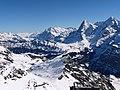 Blick zur Eiger Nordwand und Mönch vom Schilthorn - panoramio.jpg