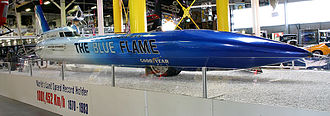 Blue Flame - Blue Flame on display in Sinsheim Auto & Technik Museum, Germany