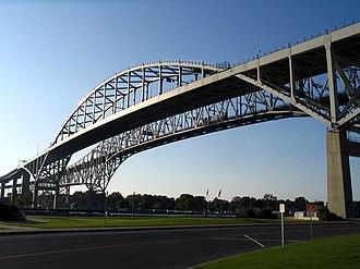 Southwestern Ontario - Blue Water Bridge, Sarnia, Ontario