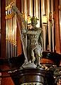 Boazum, Sint-Martinustsjerke, Heinemann-Knol-oargel, oargelbyld kening David.jpg