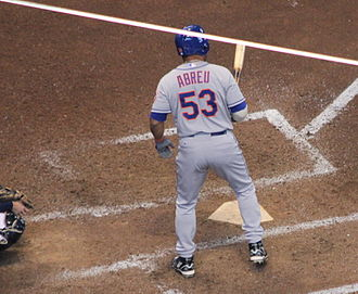 Bobby Abreu - Bobby Abreu batting for the New York Mets in 2014
