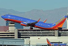 Southwest Airlines operates the most average daily domestic flights from McCarran [ 69 ]