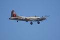 Boeing B-17G-85-DL Flying Fortress Nine-O-Nine Arrival Pass 13 CFatKAM 09Feb2011 (14960937266).jpg