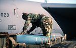 Boeing B-52H 60-0029 5BW Minot AFB loading 21Sep95 (RJF) (21419196859).jpg
