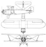 Boeing Model 95 3-view Aero Digest March 1929.png