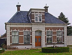 Monumental farmhouse in De Wijk