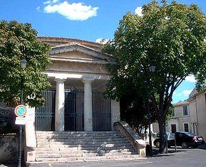 Beauvoisin, Gard - The temple in Beauvoisin