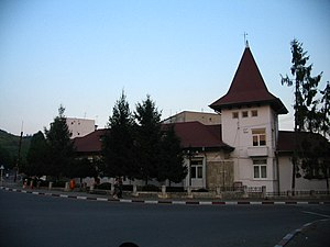 Boldești-Scăeni - Former Boldești-Scăeni town hall