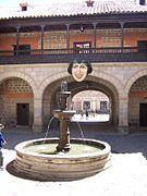 Bolivia square fountain face.jpg