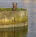 Bollard, Thompson Graving Dock - geograph.org.uk - 958718.jpg