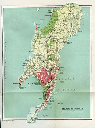 Colaba - Old Bombay, 1909