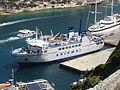 Bonifacio - Saremar - ferry Ichnusa.JPG