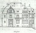 Bonn Schaumburg-Lippe-Straße 6 Aufriss Seitenfront 1911.jpg
