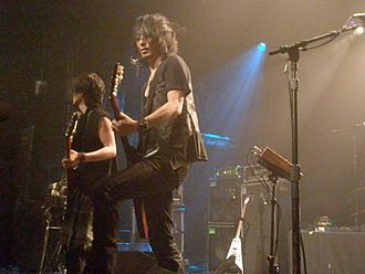 Boom Boom Satellites - Boom Boom Satellites playing at Irving Plaza on their 2010 US tour.